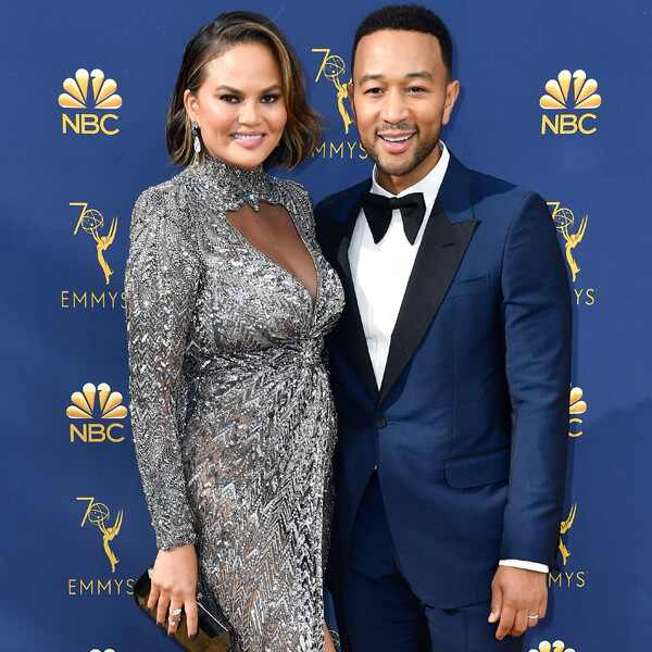 Chrissy Teigen, John Legend, 2018 Emmys, 2018 Emmy Awards, Couples